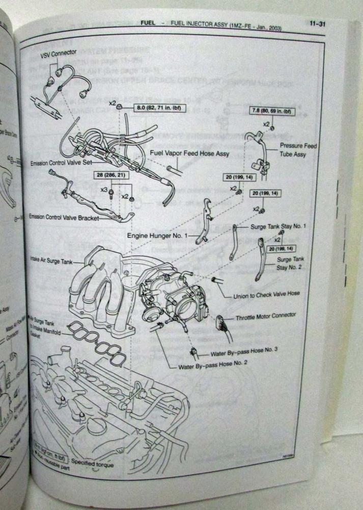 toyota camry 2003 manual