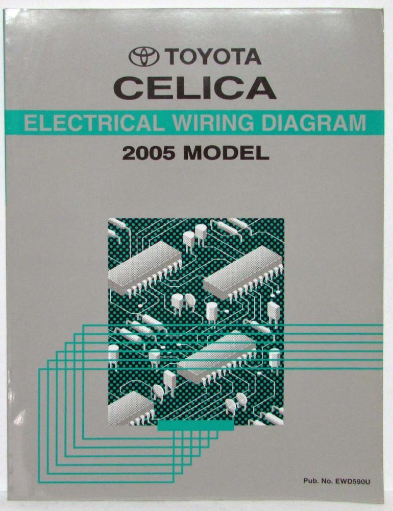 2005 toyota celica electrical wiring diagram manual rh autopaper com Toyota Celica 1998 Drawing Toyota Celica Logo
