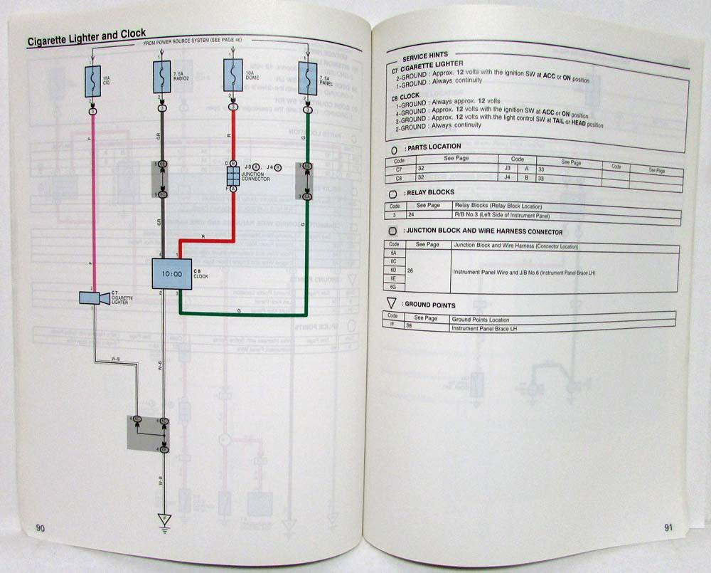 2005 Toyota Mr2 Electrical Wiring Diagram Manual