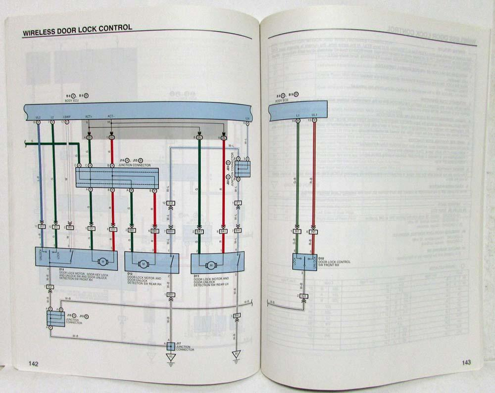 2003 Toyota Prius Electrical Wiring Diagram Manual Schematic