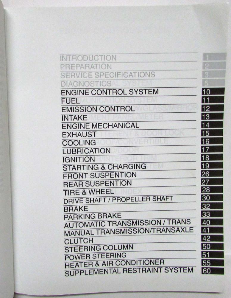 2002 toyota camry service shop repair manual set vol 1 2 rh autopaper com 2003 toyota camry service manual free 2003 toyota camry sportivo service manual