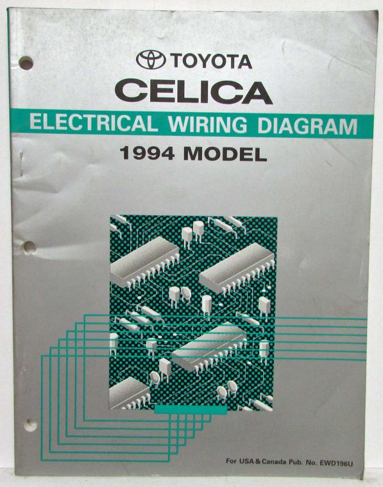 1994 Toyota Celica Electrical Wiring Diagram Manualrhautopaper: 1994 Toyota Celica Electrical Wiring Diagram At Gmaili.net