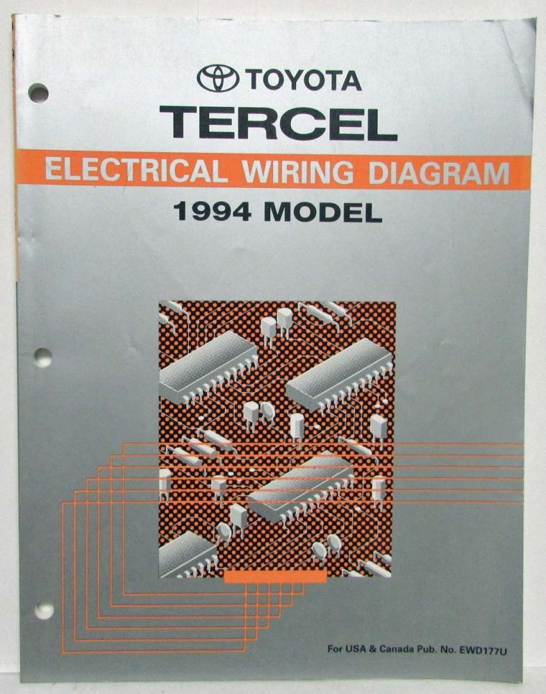 1994 toyota tercel electrical wiring diagram manual rh autopaper com 1994 toyota tercel wiring diagram 1994 toyota tercel fuse box diagram