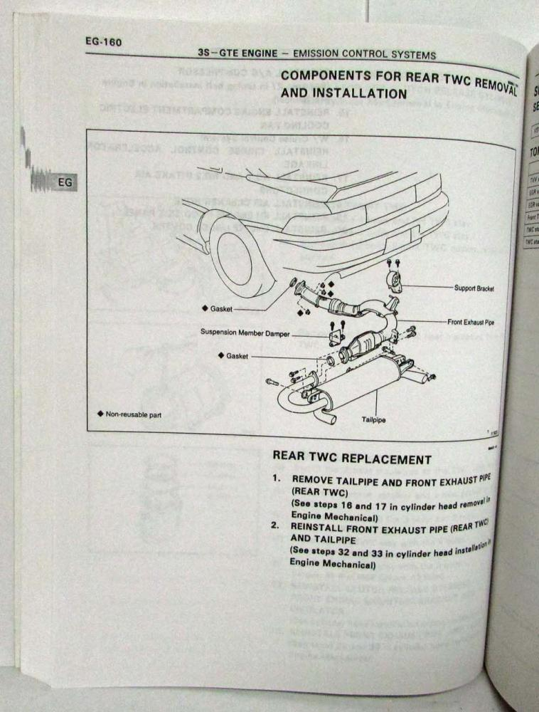 1995 toyota mr2 service shop repair manual publicscrutiny Choice Image