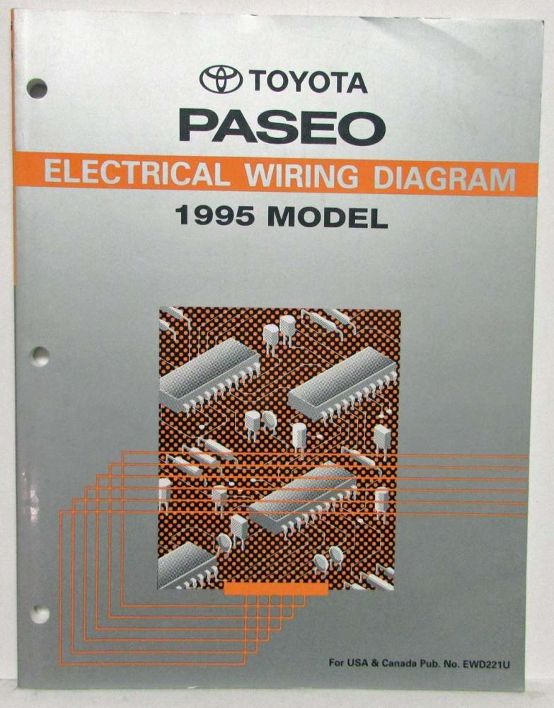 1995 Toyota Paseo Engine Diagram - Wiring Diagram Liry on