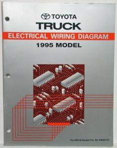 1995 Toyota Truck Electrical Wiring Diagram Manual US & Canada