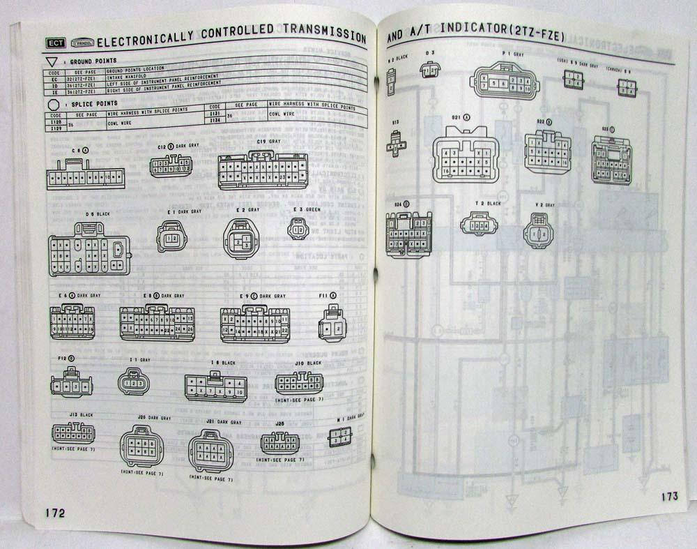 Toyota Previa Wiring Diagram Schematics Data Estima Download 1995 Electrical Manual Us Canada 2002 Wrx