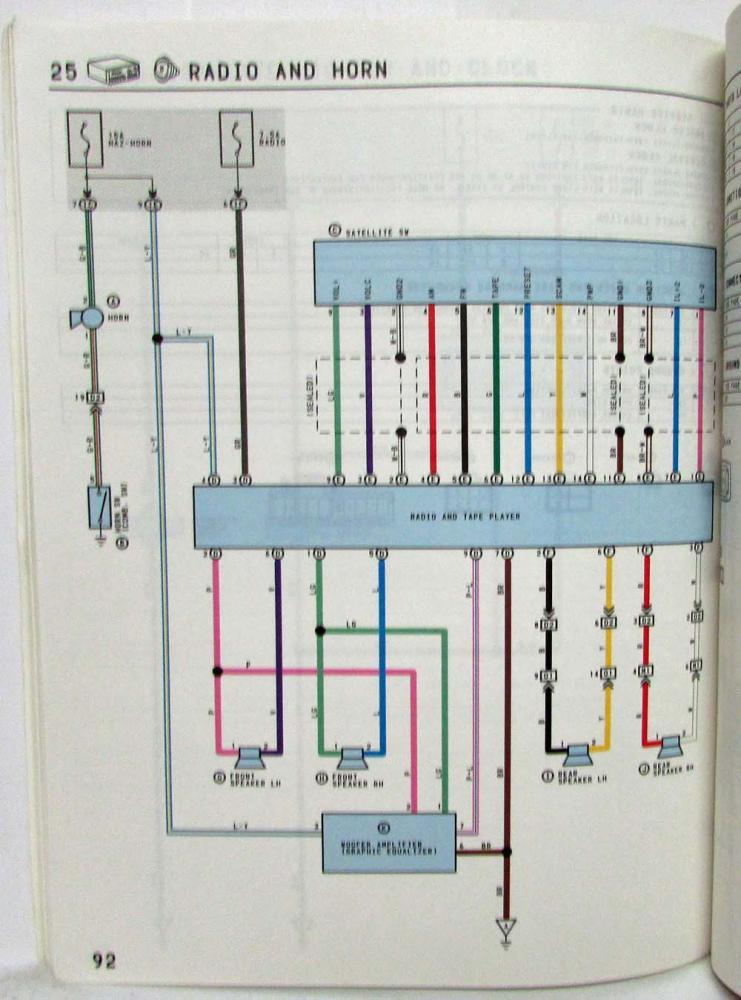 Toyota Van Wiring Diagram - Schematic Diagrams