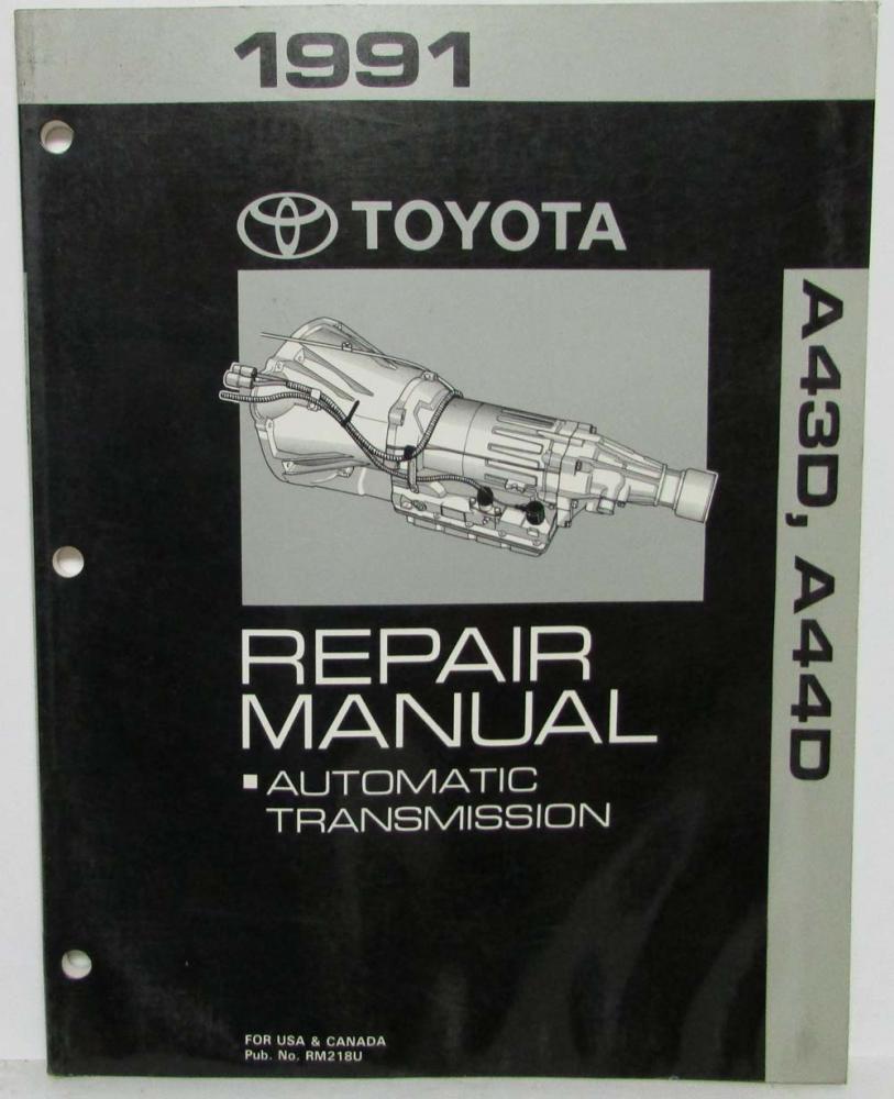 1992 Toyota Truck Shop Service Repair Manual Car & Truck Service ...