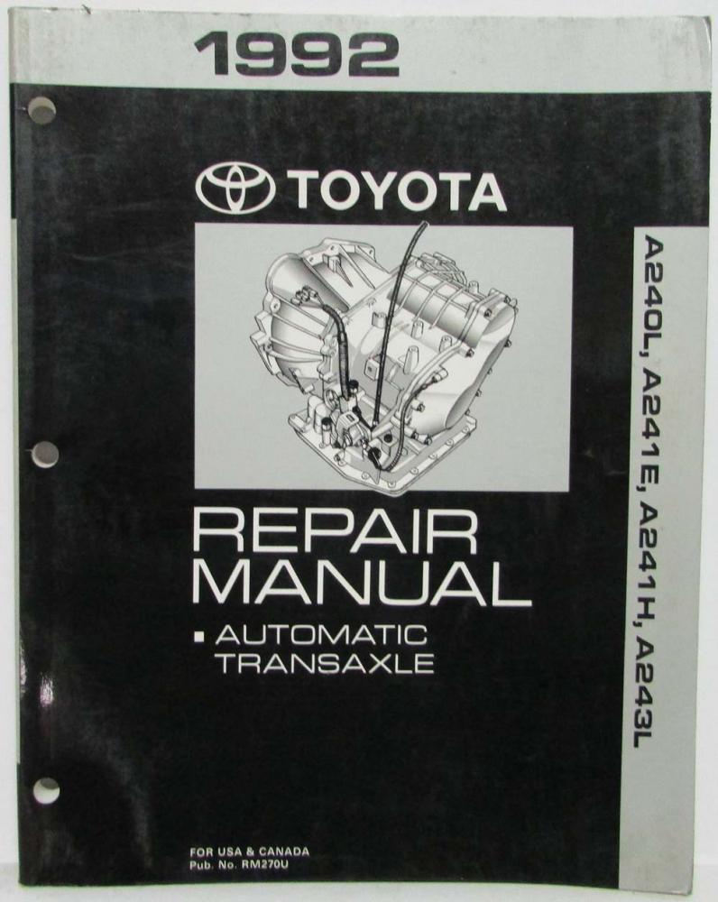 Toyota Corolla Repair Manual: Inspection procedure