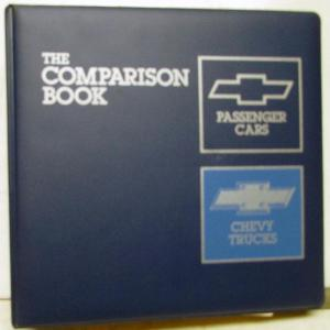 1987 Chevrolet Dealer Passenger Car & Truck Model Book Corvette Camaro C/K