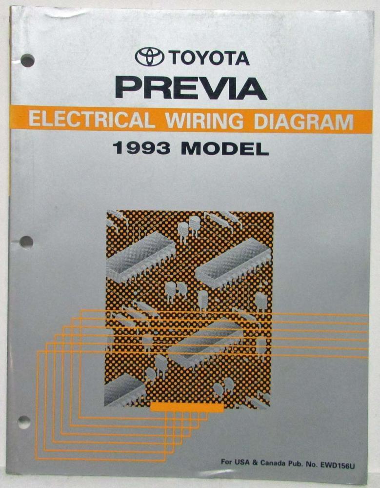 1993 toyota previa electrical wiring diagram manual us canada swarovskicordoba Image collections