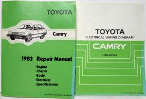 1983 Toyota Truck And Land Cruiser Electrical Wiring Diagram Manual Us Canada