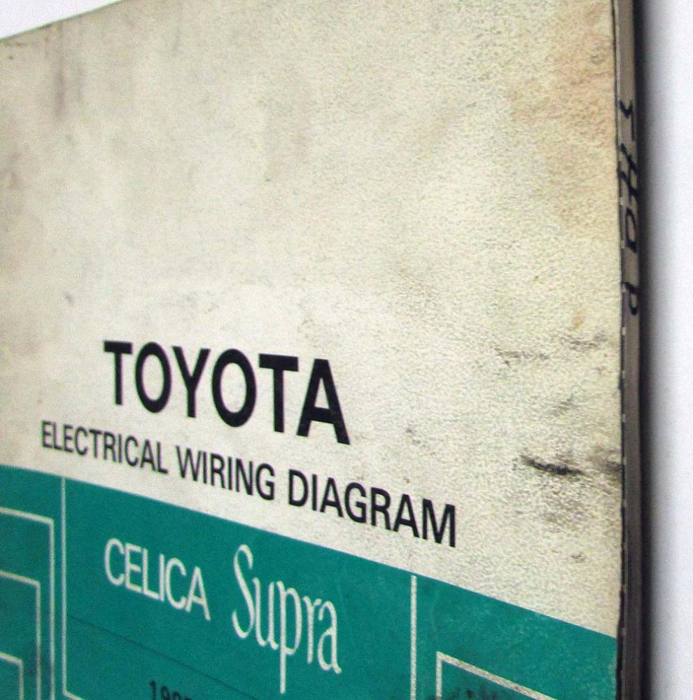 1985 Toyota Celica Wiring Diagram Schematics 1977 Supra Electrical Manual Us Canada Honda Prelude
