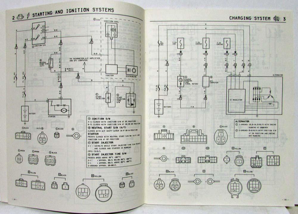 1984 toyota van wagon electrical wiring diagram manual us canada rh autopaper com toyota hiace van wiring diagram toyota hiace van electrical wiring diagram
