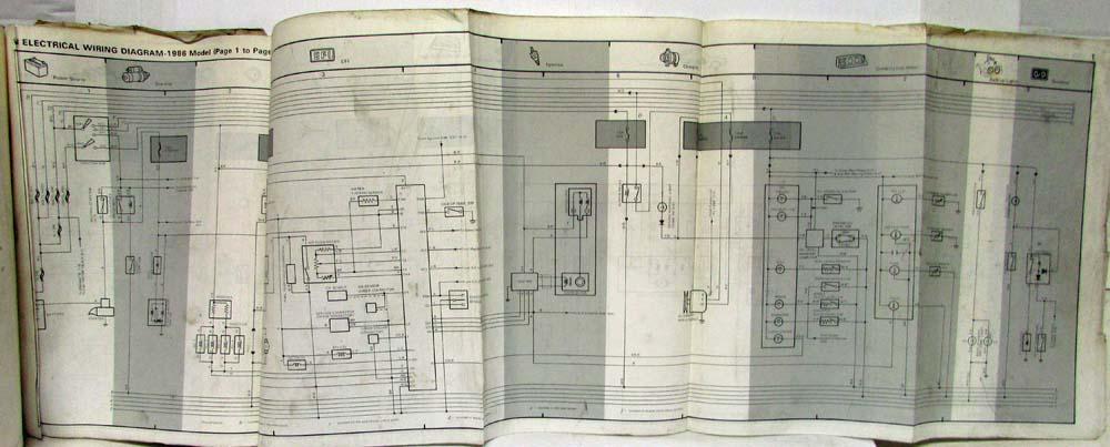 1986 Toyota Van Service Shop Repair Manual Us Canadarhautopaper: 1986 Diagrams Van Toyota Repair Wiring At Gmaili.net