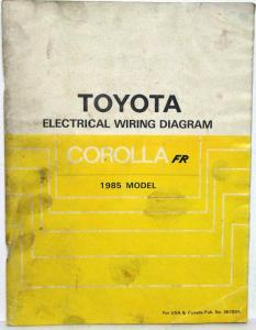 1985 toyota corolla fr electrical wiring diagram manual us canada rh autopaper com