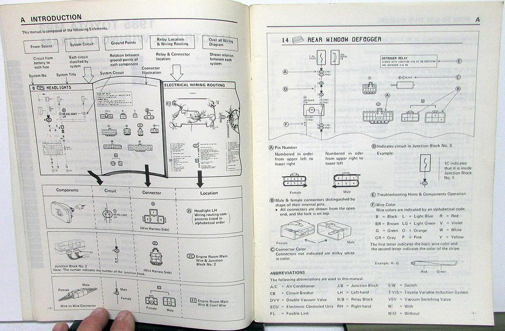 1985 Toyota 4runner Wiring Diagram Trusted Diagrams HVAC Unit Air Conditioning
