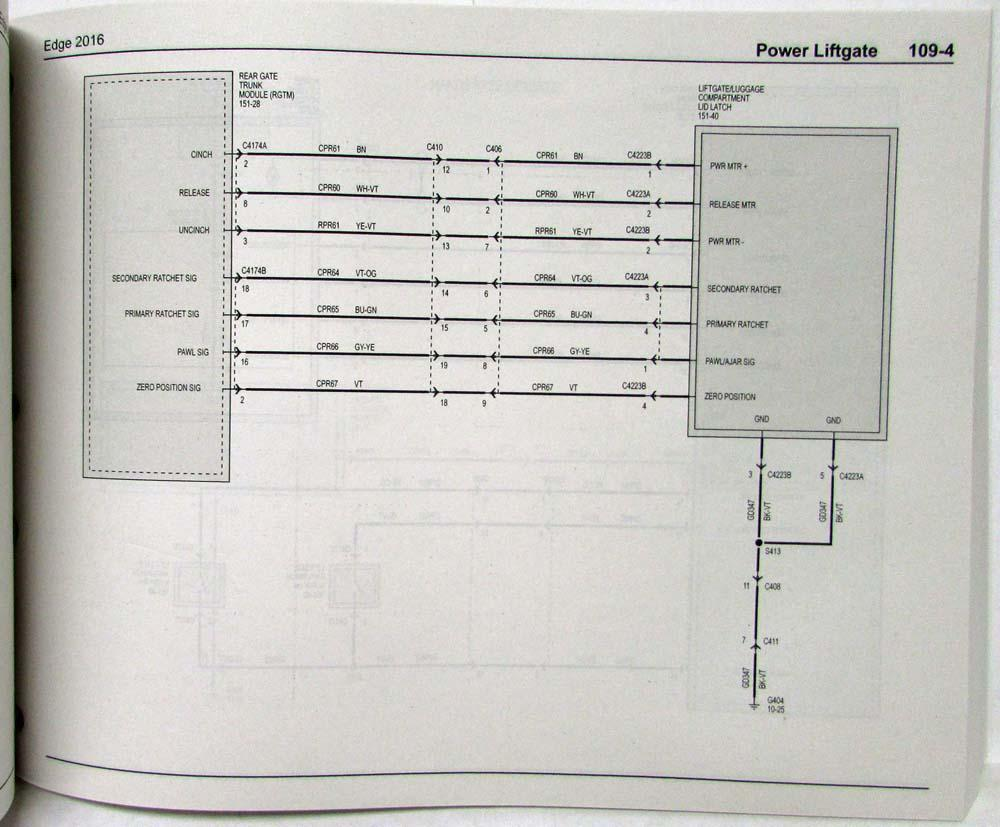 2016 Ford Edge Diagram Radio Wiring Diagram \u2022 2003 Ford Ranger  Electrical Diagram Ford Edge Electrical Diagram