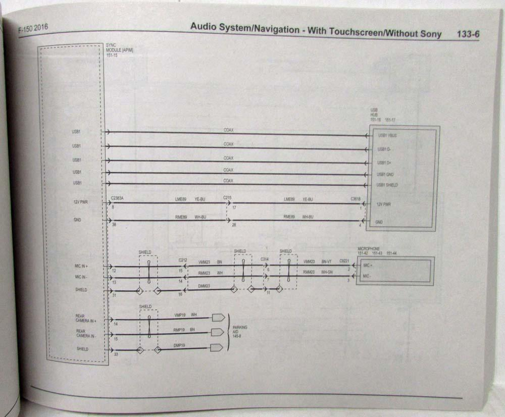 Sony Stereo System Wiring Diagram Ford F 150