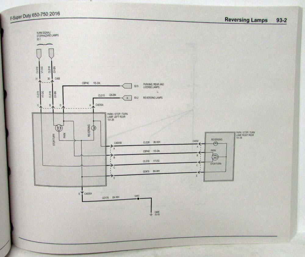 2016 Ford Super Duty Wiring Diagram Wire Data Schema F250 F 650 750 Trucks Electrical 350
