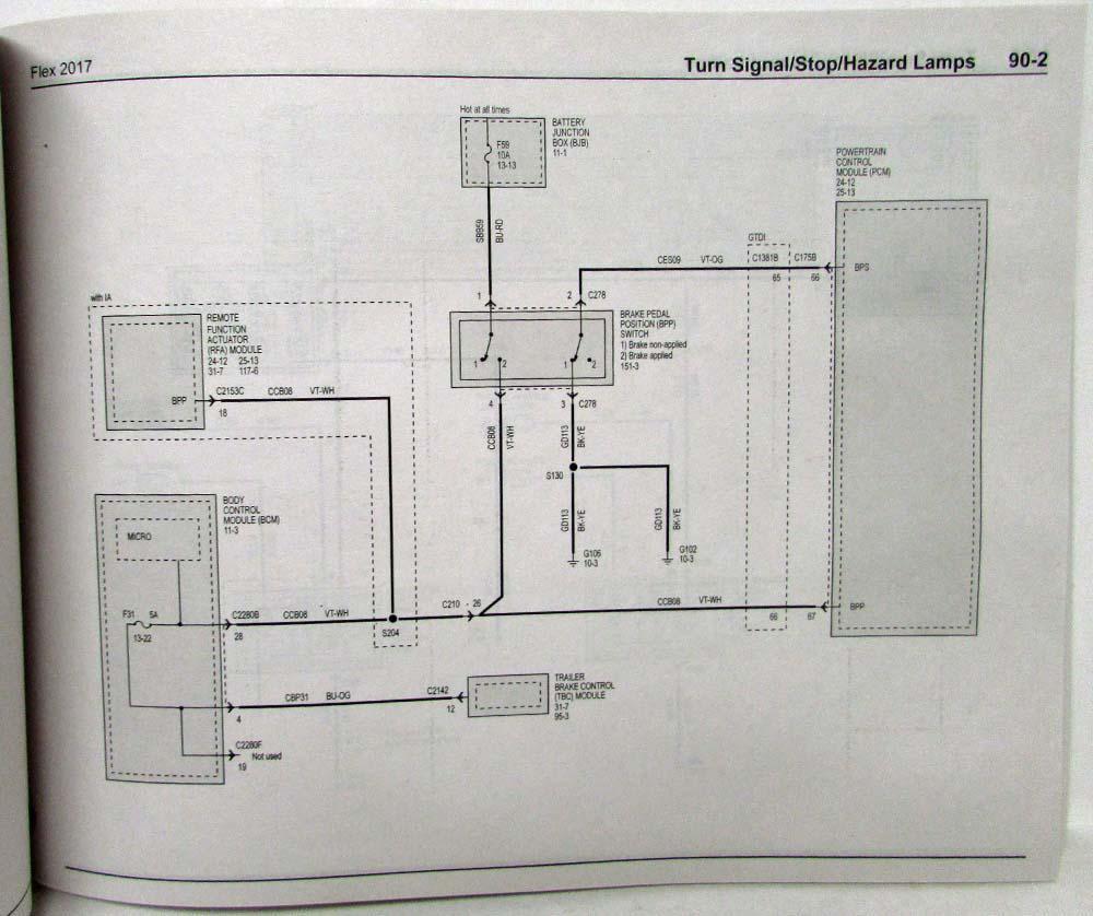 2017 ford flex electrical wiring diagrams manual ford electrical wiring diagrams ford flex wiring schematic #15