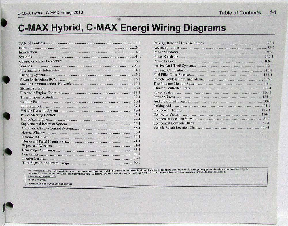 2013 ford c max hybrid fuse diagram ford c max 2008 wiring diagrams 2013 ford c-max hybrid energi electric electrical wiring ... #10