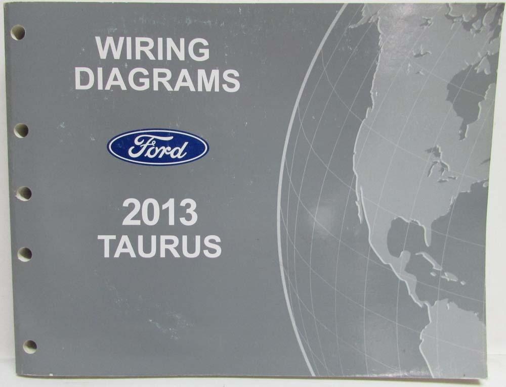 [SCHEMATICS_4JK]  2013 Ford Taurus Interceptor Electrical Wiring Diagrams Manual | 2013 Ford Taurus Interceptor Wiring Diagrams |  | Troxel's Auto Literature
