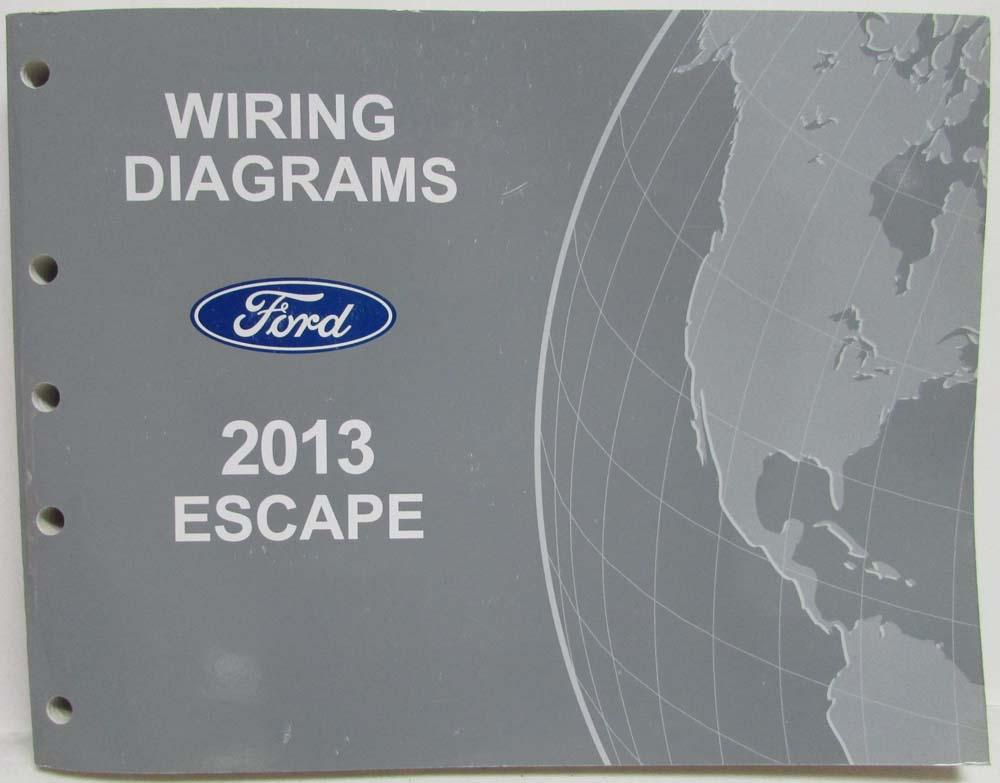 2013 ford escape electrical wiring diagrams manual rh autopaper com ford escape whining noise when accelerating ford escape wearing inside rear tires