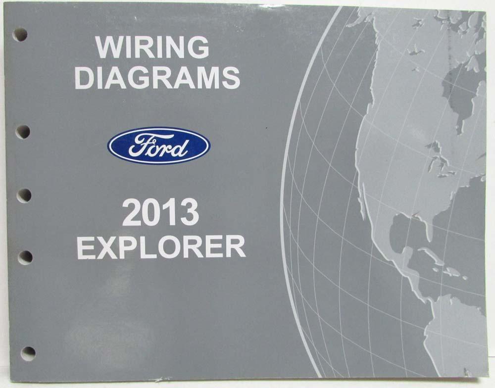 2013 ford explorer wiring diagram 2013 ford explorer electrical wiring diagrams manual #9