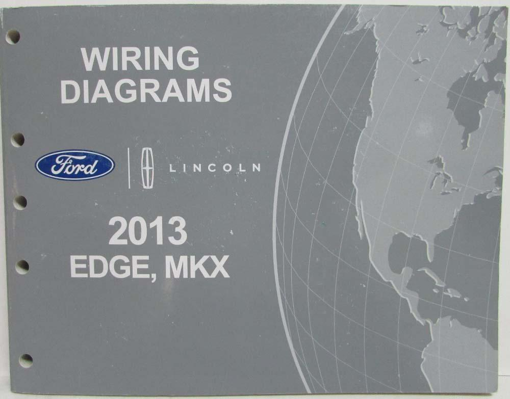 2013 ford edge and lincoln mkx electrical wiring diagrams