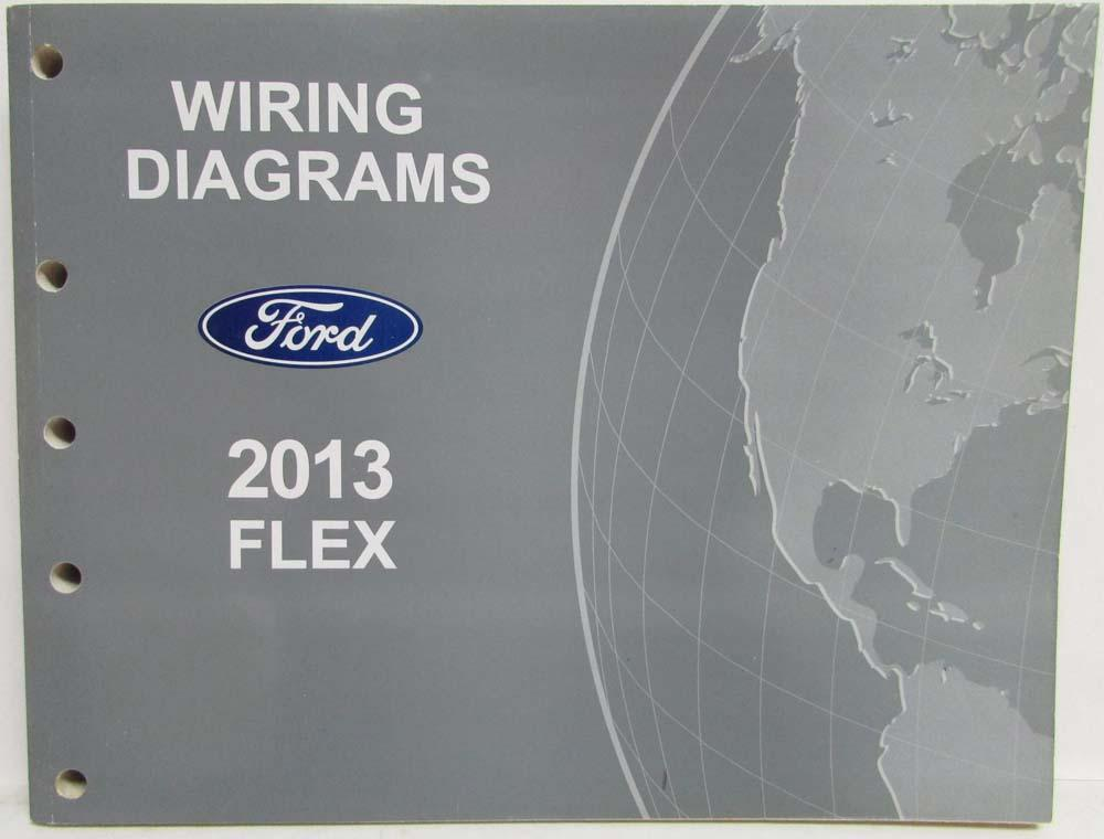 2013 ford flex electrical wiring diagrams manual rh autopaper com Ford Alternator Wiring Diagram Ford F-150 Electrical Schematic