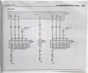 [WQZT_9871]  2014 Ford Focus Electric Electrical Wiring Diagrams Manual | 2014 Ford Focus Wiring Diagram |  | Troxel's Auto Literature