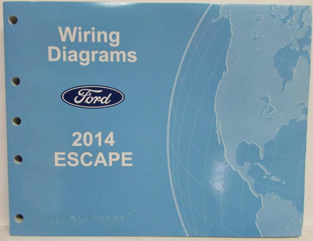 2014 Ford Escape Electrical Wiring Diagrams Manual