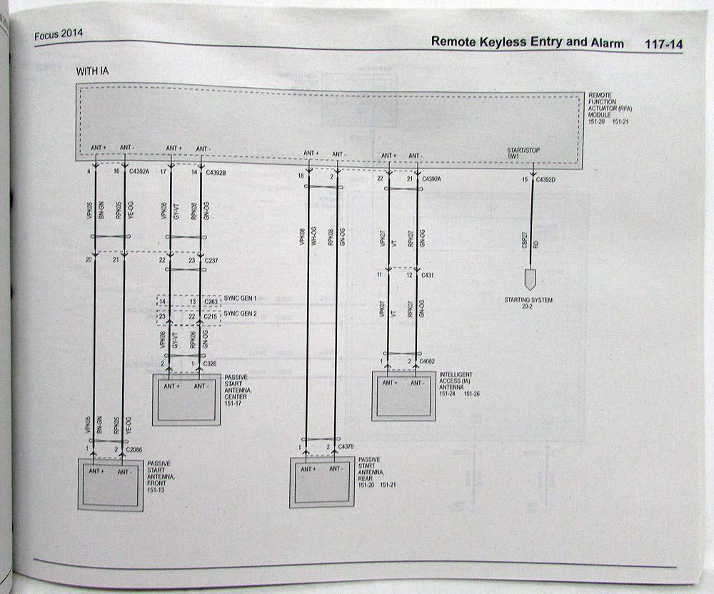 2005 Ford Focus Wiring Diagram Manual Original Autos Weblog
