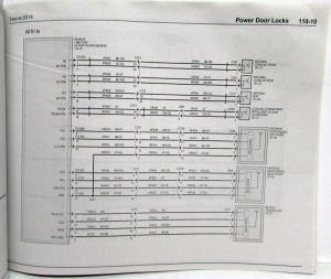 2014 ford taurus \u0026 police interceptor electrical wiring diagrams manual 1996 Ford Taurus Wiring Diagram