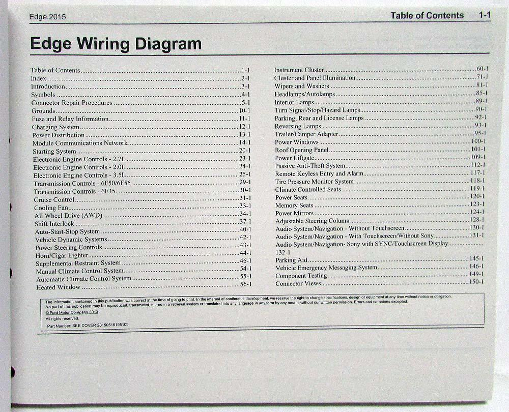 2011 ford edge fuse box diagram