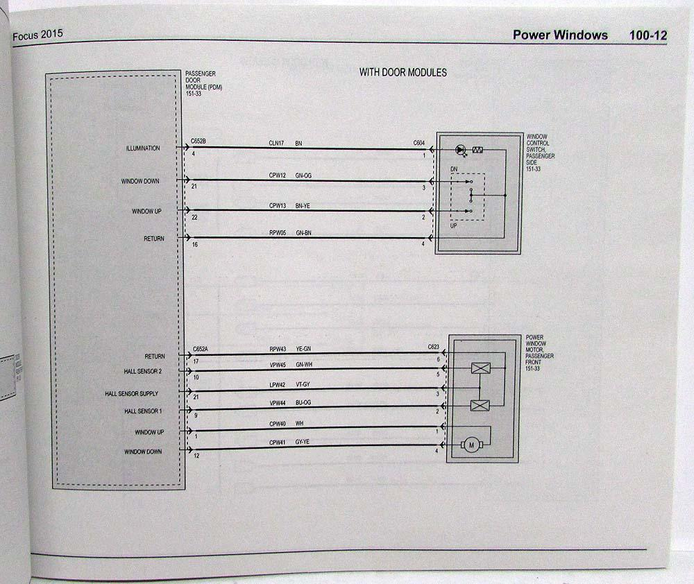 2015 ford focus st electrical wiring diagrams manual wiring schematic motor starter