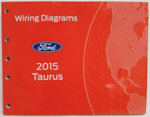 2015 Ford Taurus & Police Interceptor Electrical Wiring Diagrams Manual