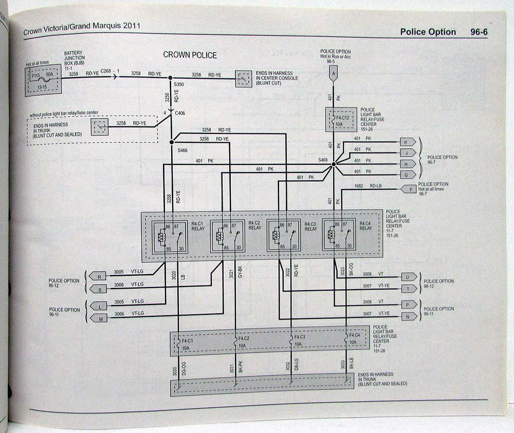1990 mercury grand marquis wiring diagram 2011 ford crown victoria   mercury grand marquis electrical wiring  2011 ford crown victoria   mercury