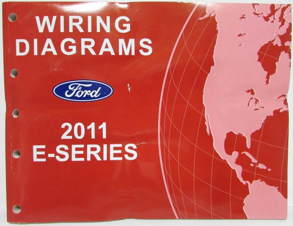 2011 ford econoline club wagon e series electrical wiring diagrams rh autopaper com