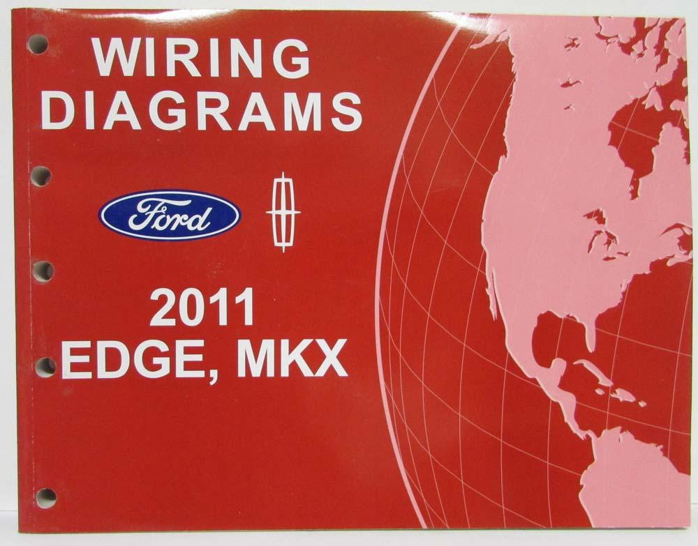 2011 ford edge and lincoln mkx electrical wiring diagrams manual rh autopaper com 2011 ford edge stereo wiring diagram 2011 ford edge door ajar wiring diagram