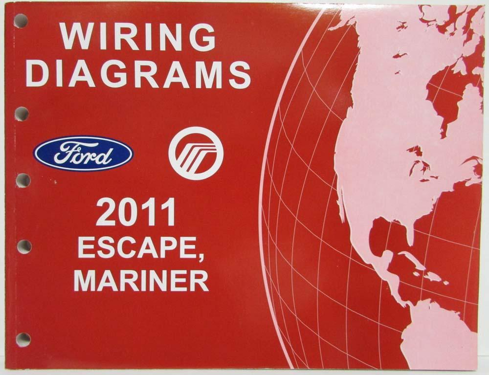 2011 ford escape mercury mariner electrical wiring diagrams manual