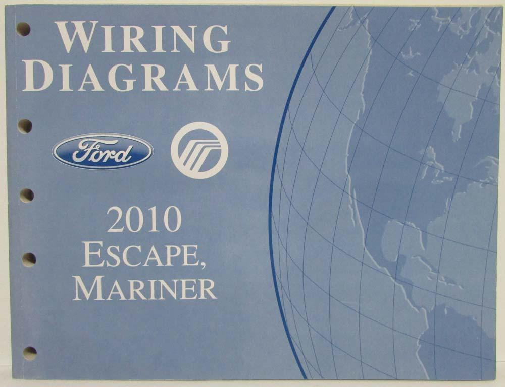 2010 Ford Escape Mercury Mariner Electrical Wiring Diagrams Manualrhautopaper: 2010 Ford Escape Wiring Diagram At Gmaili.net