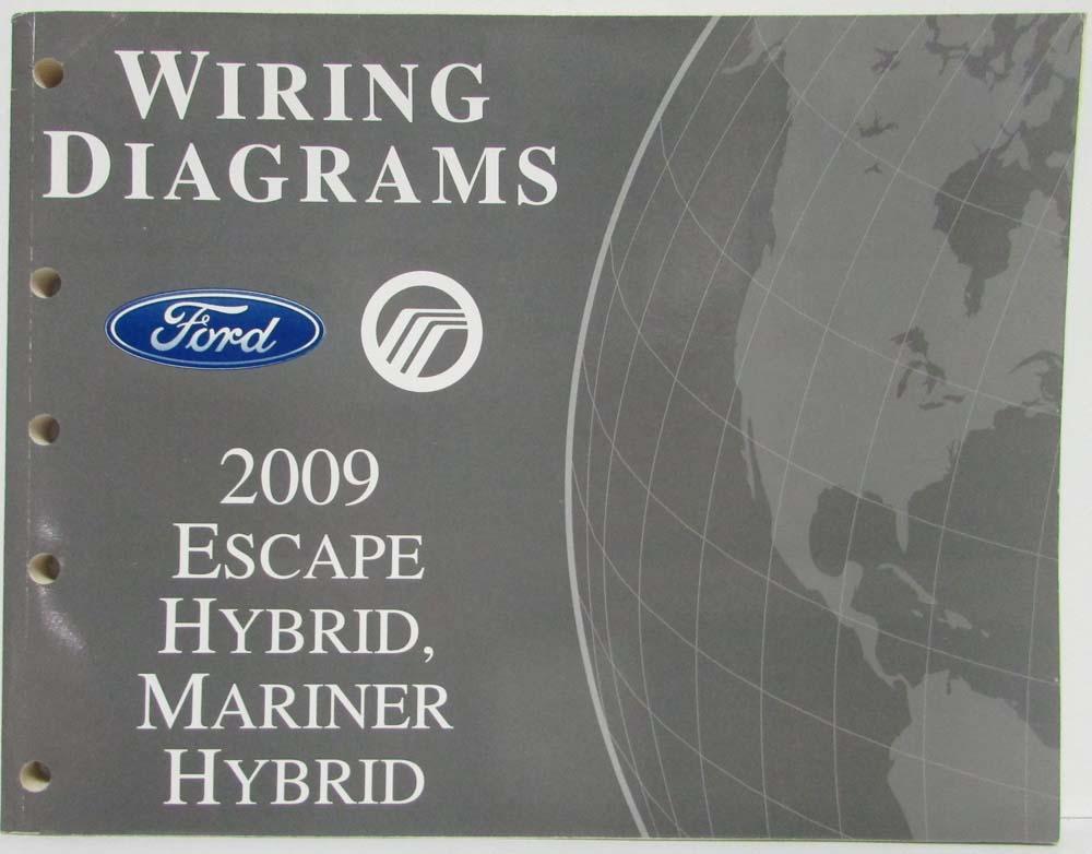 2009 ford escape mercury mariner hybrid electrical wiring diagrams rh autopaper com