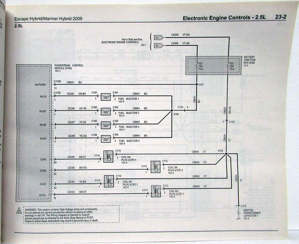 09 Ford Escape Hybrid Fuse Box Electrical Wiring Diagrams 05 Ford Escape  Fuse Diagram 2011 Escape Fuse Box Diagram