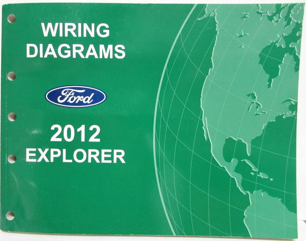 2012 Ford Explorer Electrical Wiring Diagrams Manual