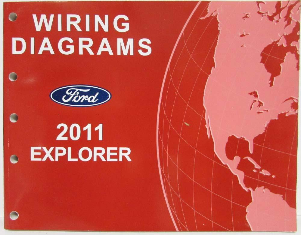 2011 Ford Explorer Electrical Wiring Diagrams Manual  Ford Escape Park Ist Wiring Diagram on