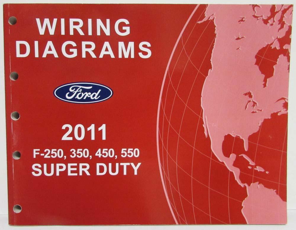 2011 ford f 250 350 450 550 super duty pickup electrical wiring rh autopaper com 2017 Ford F-350 2012 Ford F-350