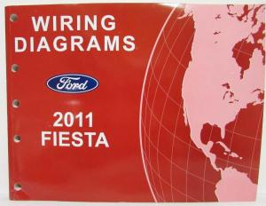 2011 Ford Fiesta Electrical Wiring Diagrams Manual